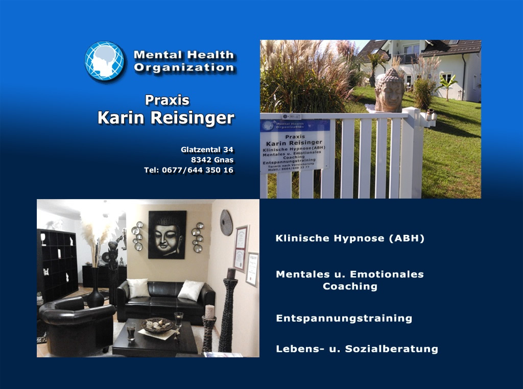 Karin Reisinger | Mental Health Organization